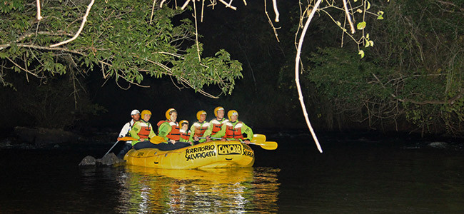 Rafting Noturno - Brotas - SP