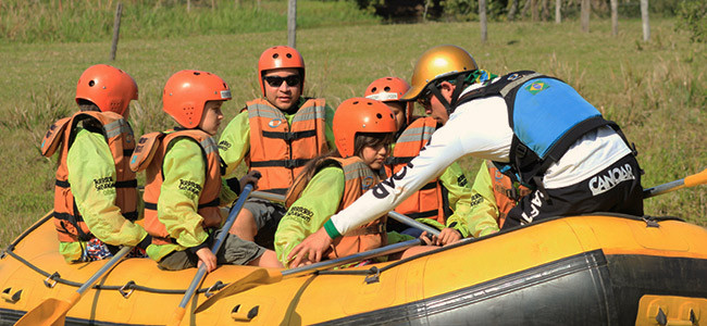 Mini Rafting em Brotas SP